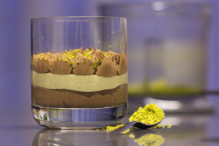 Schoko Orangen Dessert