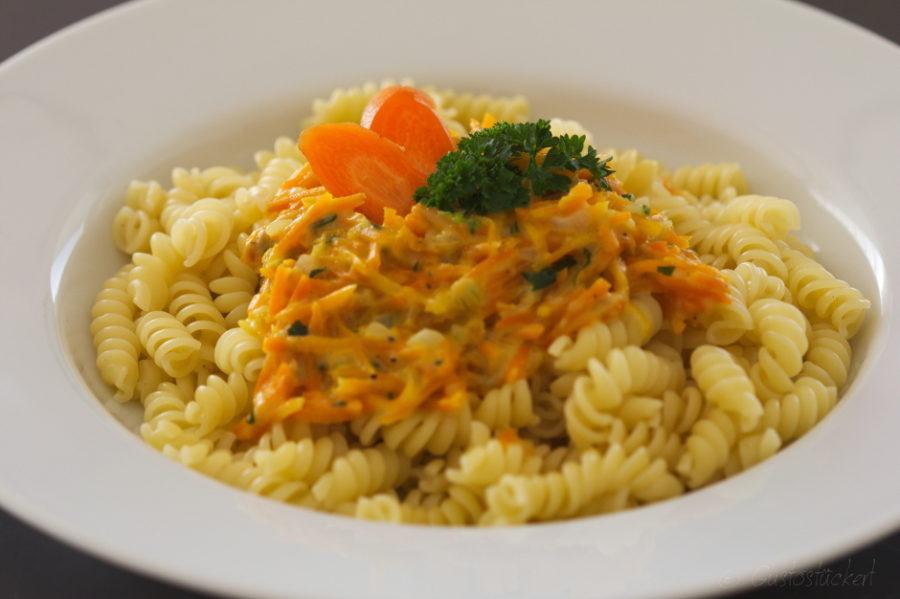 Karottenpasta